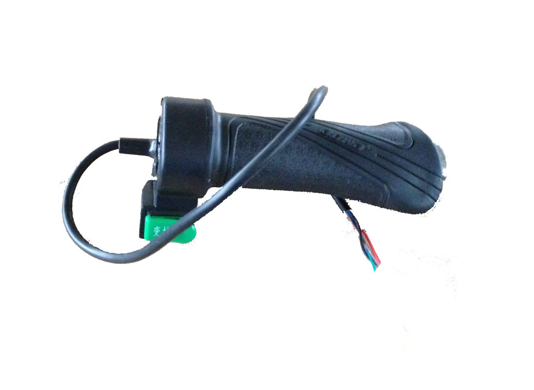 115 mm Length Electric Bicycle Parts Pvc Electric Bike Throttle For Speed Controller