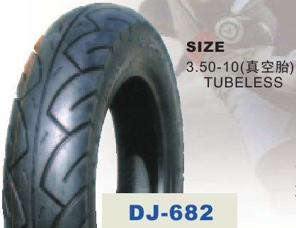 3.50 - 10'' Tubeless Electric Scooter Tyres For Off Road Electric Scooter